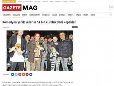 Gazete Mag – 14 Bin Euro'luk Yeni Köpekler