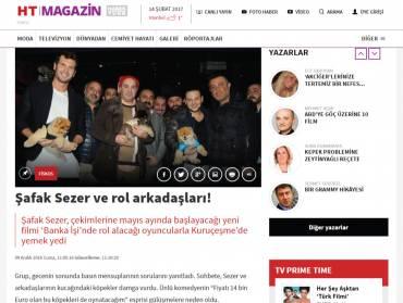 HT-Magazin Şafak Sezer ve Rol Arkadaşları